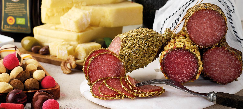 Delikatesskungen salami