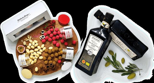 erbjudande lakrits och olivolja