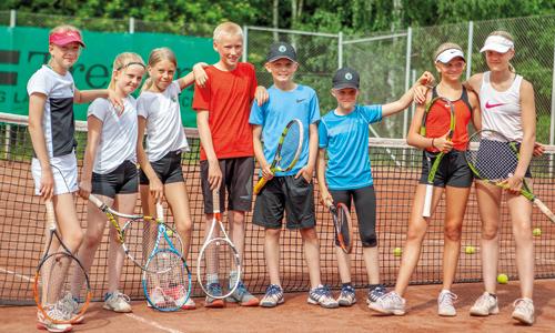 Tennisgrupp